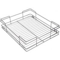 Stainless Steel 15X20X04 Plain Kitchen Basket