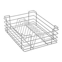 Stainless Steel 15X20X06 Plate Kitchen Basket