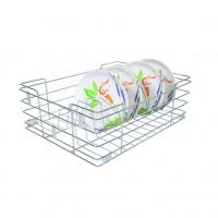 Stainless Steel 15X20X08 Plate Kitchen Basket